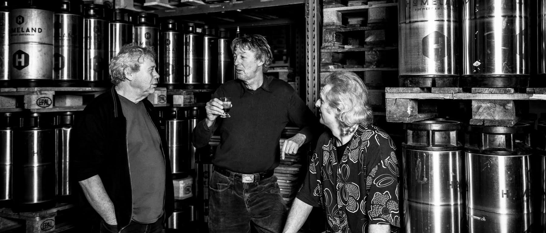 Oprichters van de brouwerij.
